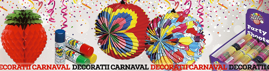 Decoratiuni Carnaval