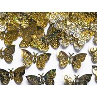 Confetti Holografic Fluturi Aurii