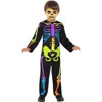 Costum Schelet Punky copii 7-9 ani
