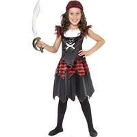Costumatie Pirat Gothic fetite 7-9 ani