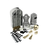 Set decorativ Halloween - Cimitir 24 de piese
