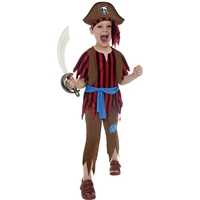 Costum Pirat baieti 7-9 ani