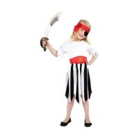Costum Pirat pentru fete 7-9 ani