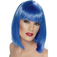 Peruca Glam albastra