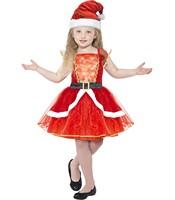 Costum Miss Santa 12+ ani