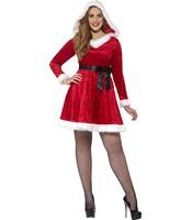 Costumatie Miss Santa femei XL