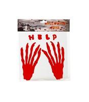 Decor HELP maini insangerate