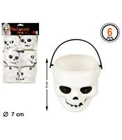 Set Cosulete Trick Or Treat Craniu 6 bucati