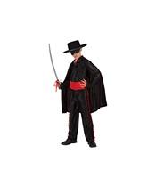 Costum Zorro copii 3-4 ani