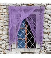 Perdea Zdrentuita Violet 220 X 75 cm