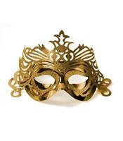Masca Venetiana Aurie Cu Ornament