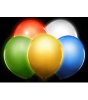5 Baloane Luminate LED