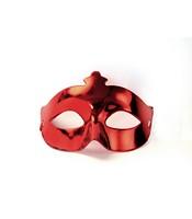 Masca Venetiana Rosu Metalizat