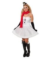 Costumatie Miss SnowMan M