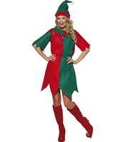 Costumatie Miss Elf Mos Craciun M