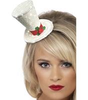 Mini Palarie White Christmas