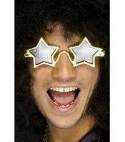 Ochelari SuperStar - Stea aurii