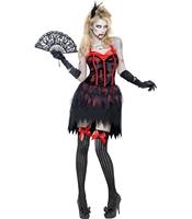 Costum Zombi Burlesque S