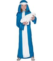 Costum Fecioara Maria copii 6-8 ani
