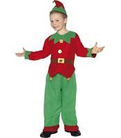 Costum Elf Mos Craciun copii 7-9 ani