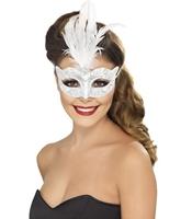 Masca Venetiana argintie