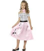 Costum Fetita Cu Pudel 7-9 ani