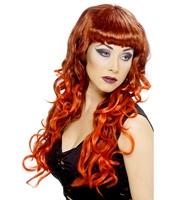 Peruca Siren - roscata/bruneta