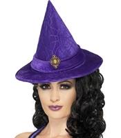 Palarie Vrajitoare Halloween Elegant Buckle