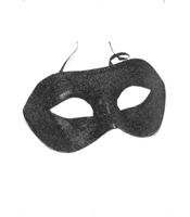 Masca Cu Sclipici Neagra