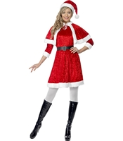 Costumatie Craciunita Miss Santa S