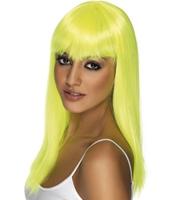 Peruca Glamourama galben aprins