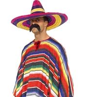 Palarie Sombrero Mariachi multicolora