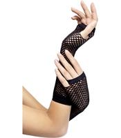 Manusi lungi - Fishnet negre