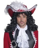 Palarie Pirat Autentica cu pana