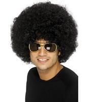 Peruca afro bruneta