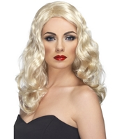 Peruca Glamorous Blonda