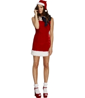 Costum Craciunita Miss Santa Cutie S