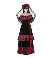 Costum Mireasa Day of The Dead S