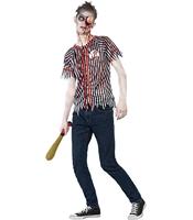 Costumatie Zombi XS - Jucator de Baseball