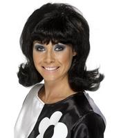 Peruca Sixties - bruneta