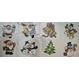 Costume Craciun Decoratiuni Craciun Cadouri de Craciun | Decoratiuni Craciun Abtibild geam decorativ Craciun 20x20cm