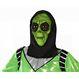 Carnaval / Petreceri Masti Carnaval Masca Halloween Extraterestru Verde