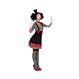 Carnaval / Petreceri Costumatii femei Costumatii halloween - Costumatii Halloween Femei Costum Mim Dama M-L