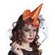 HALLOWEEN Palarii Halloween Costume Halloween | Palarii Halloween Cordeluta cu Palarie Vrajitoare