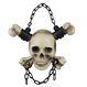 Decoratiuni si Farse Halloween Schelete Craniu si Oase Incrucisate