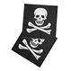 Decoratiuni si Farse Halloween Diverse Halloween Set 12 Servetele Imprimate Steagul Piratilor