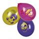 Decoratiuni si Farse Halloween Baloane Halloween Decoratiuni Halloween | Baloane Halloween Set 6 baloane cu schelete