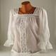 Costume Traditionale Romanesti Costume Populare Adulti Ie populara alba, marime S