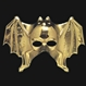 HALLOWEEN Masti Halloween Promotii - Produse Noi Masca Gold Bat