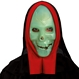 HALLOWEEN Masti Halloween Masca Schelet verde cu Gluga